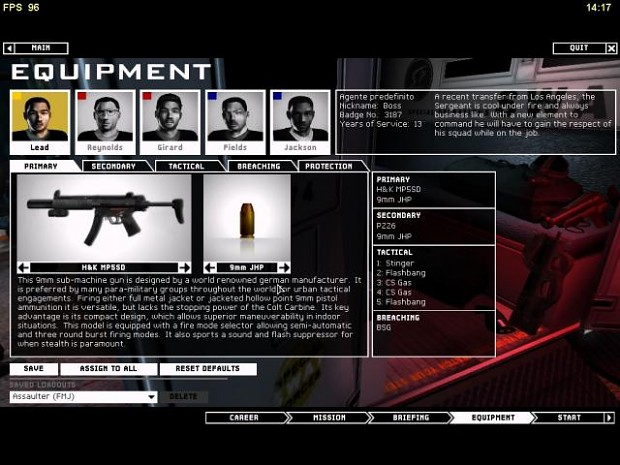 SAS Mod v1.0 for SWAT 4 Expansion (TSS)