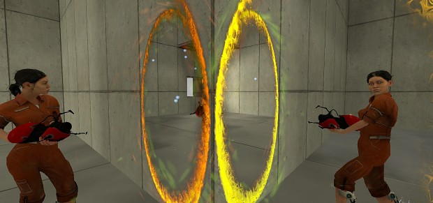 New Portal Effects and Particle Systems