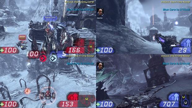 Splitscreen Core Assault