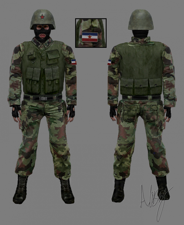 New Yugoslav Army (Concept)