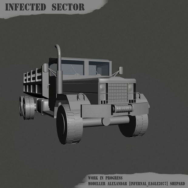 m35 truck work in progress