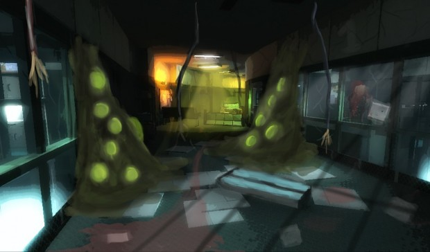 Possible lab design (early art)