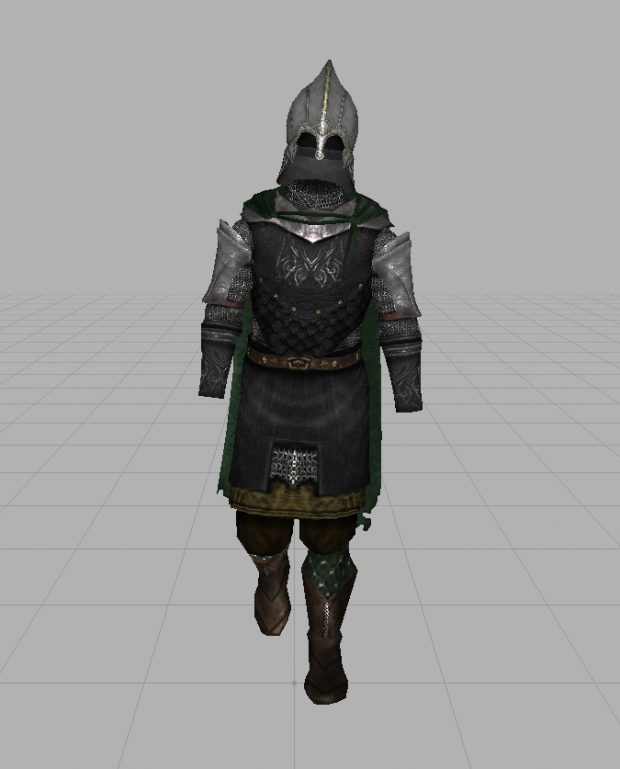 Sindar Warrior of the Woodland Realm (WIP)