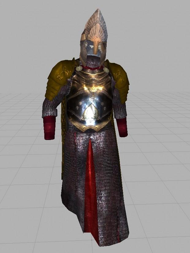 Numenorean Coronation Armor (WIP)