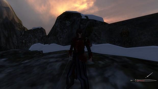 Red Eldarinwe armor (reskin by me)