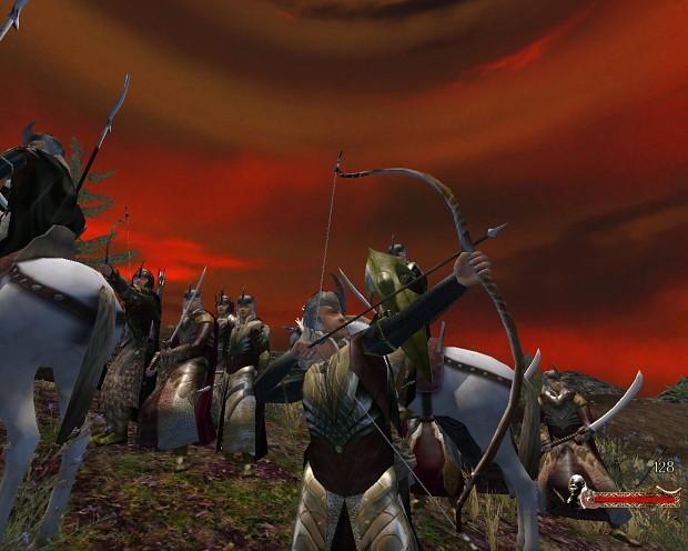 The Galadhrim Elves