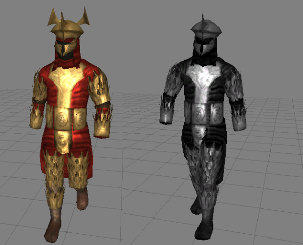 Rhún Warrior & Khamúl's Shadowguard