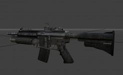 HK 416 w/Reflex and M203