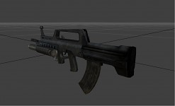 QBZ with Grenade Launcher