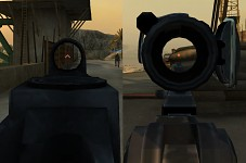 New Aimpoint and Kobra sight target