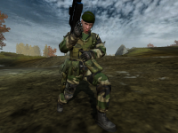 EU new woodland light uniform texture