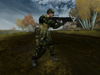 EU new woodland heavy uniform texture