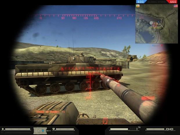 New T-90 HUD