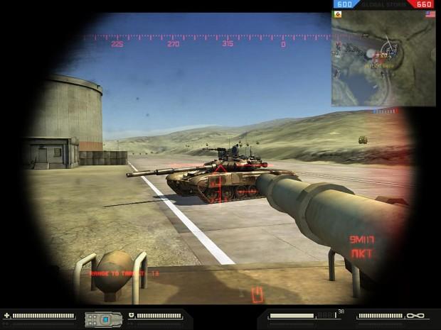 New BMP3 HUD