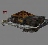 Indonesia Guerrilla Forces Command Center