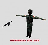 Indonesia Soldier