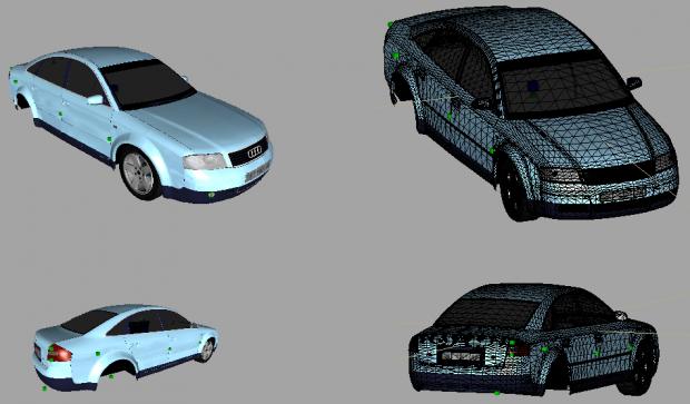 Audi A6 Image Gta Constanta Mod For Grand Theft Auto