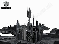 New Renders of Atlantis Ver 2.0 with WIP textures