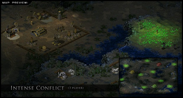 Intense Conflict (3 player)