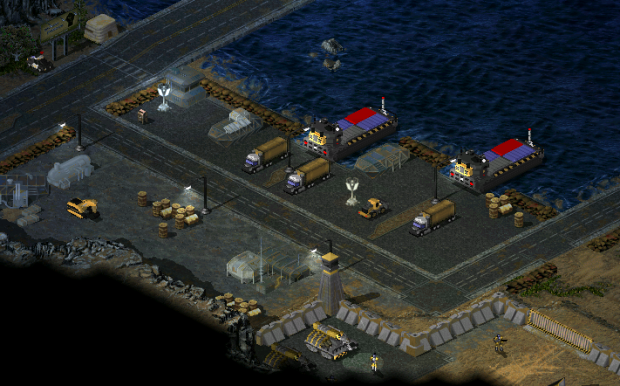 Dock with new assets