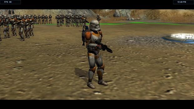 Anakin,Jet Trooper and Possible Obi-wan