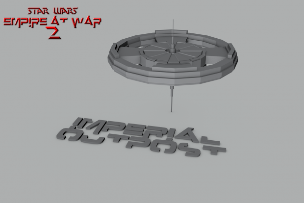 IMPERIAL OUTPOST MODEL [WIP 1.7.13]