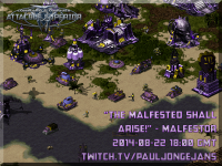 The malfested shall arise! - Stream 2014-08-22