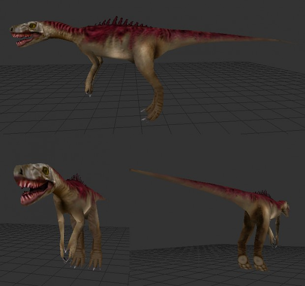 Herrerasaurus New Model WIP