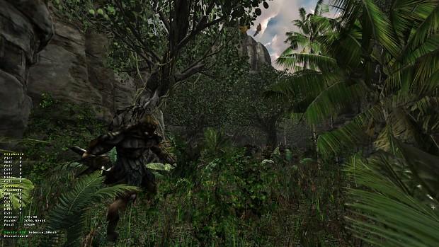 Model vegetation