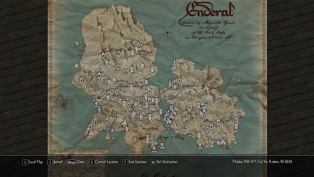 Ingame Paper Map