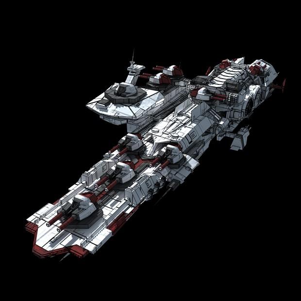 Line Defender Frigate Concept Design
