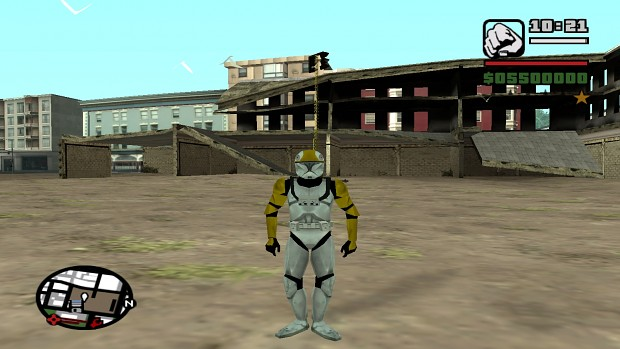 Clone Update - Clone Trooper Pilot