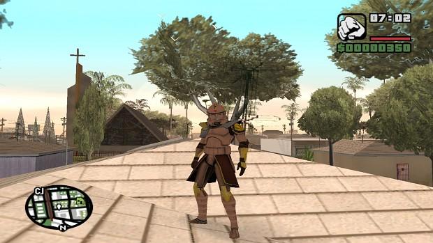 ARC Trooper Flamethrower