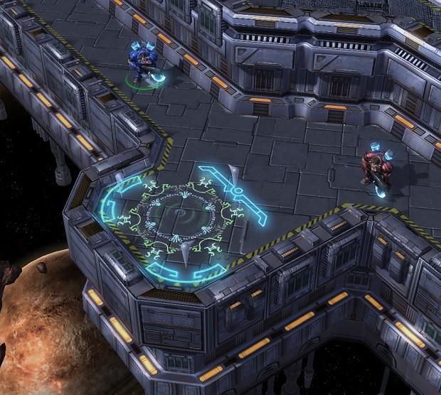 Western Teleport Pad image - BattleNodes: Unity mod for