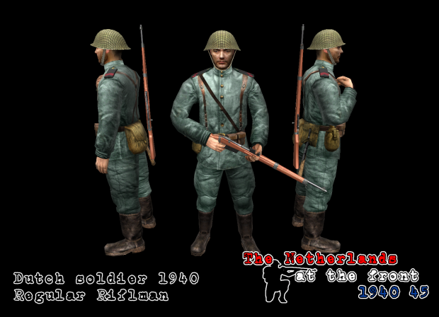 Dutch Soldier 1940 - Rifleman Wip -