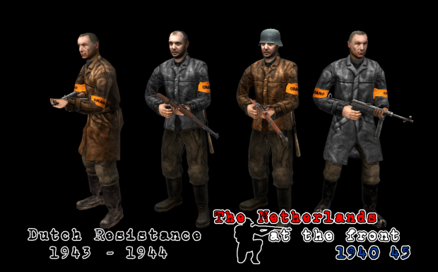 Dutch Resistance fighters - WIP -