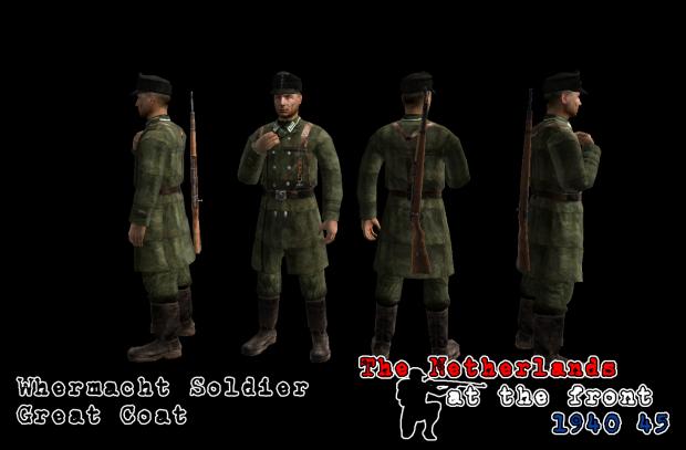 Wehrmacht Coat - WIP -