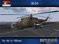 Mi-24 (Serbian air force skin, by FON Stepke)