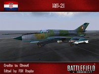 MiG-21 (Croatian air force skin, by FONStepke)