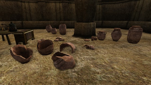 Colovian Barrow Jars