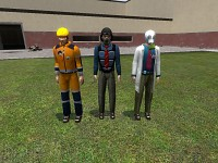 scientist, civilian and construction