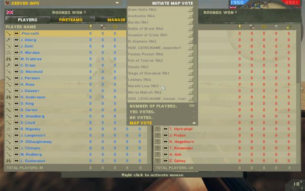 In game single player/coop map menu