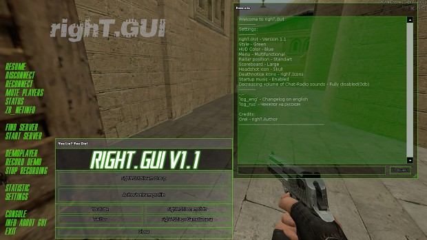 righT.Gui Version 1.1