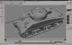 New Model - Sherman Firefly WIP
