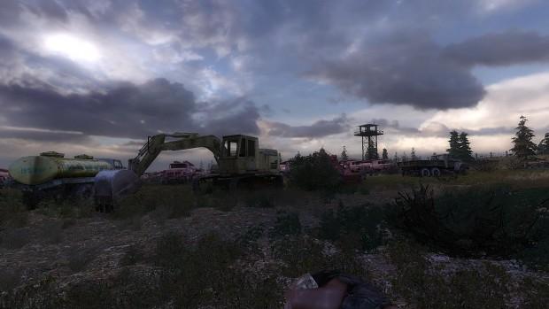 Trucks cemetery - 3D work in progress
