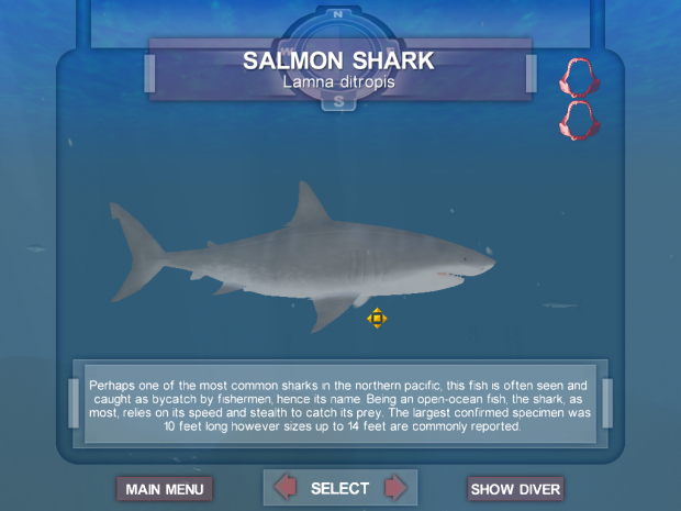 New Skin for Salmon Shark