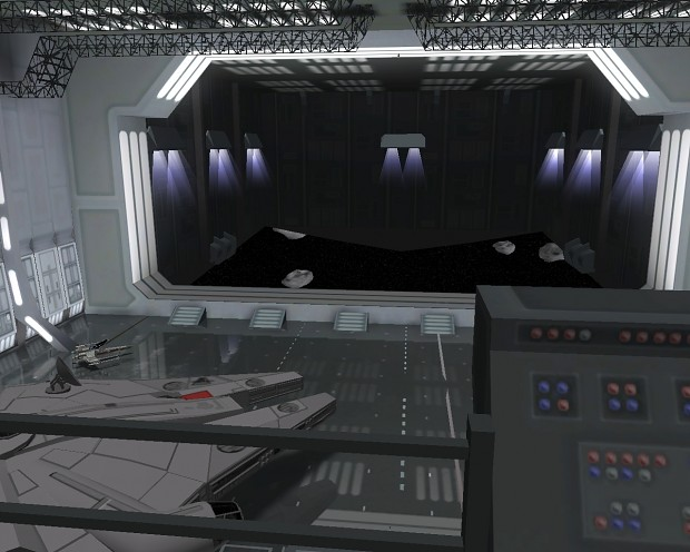 Revamped Main Hangar