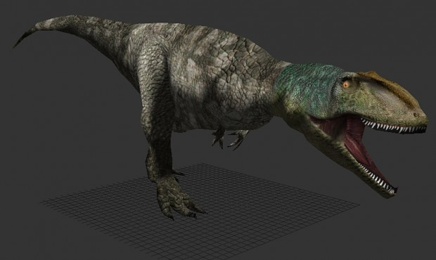 A beautiful skin by RaptorKlaw for Giganotosaurus