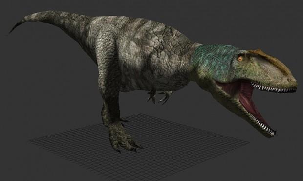 A beautiful skin by RaptorKlaw for Giganotosaurus