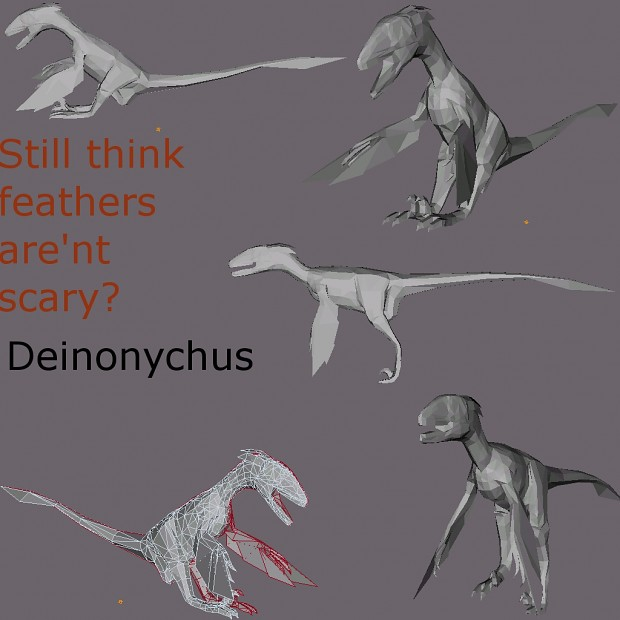 Deinonychus Progress